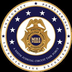 Logo for Metropolitan Bureau of Investigation