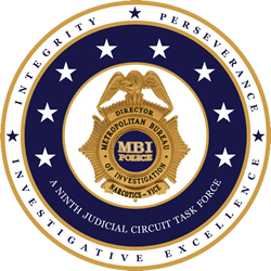 Logo for Metropolitan Bureau of Investigation